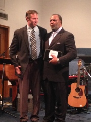 Pastors Terry Turner and Kevin Jordan